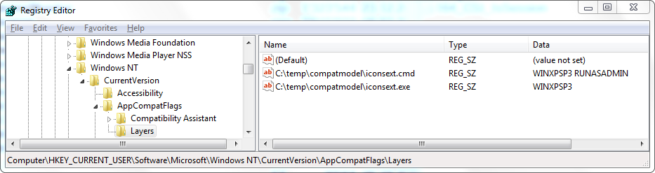 Running an Application as Administrator or in Compatibility Mode