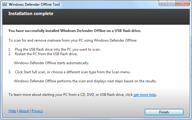 How the Windows Defender Offline Beta Tool works – Anything