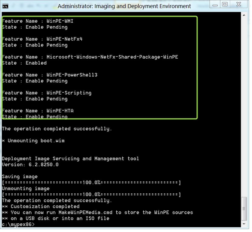 Windows 8 – Script for customizing WinPE 4 0 – Part 1
