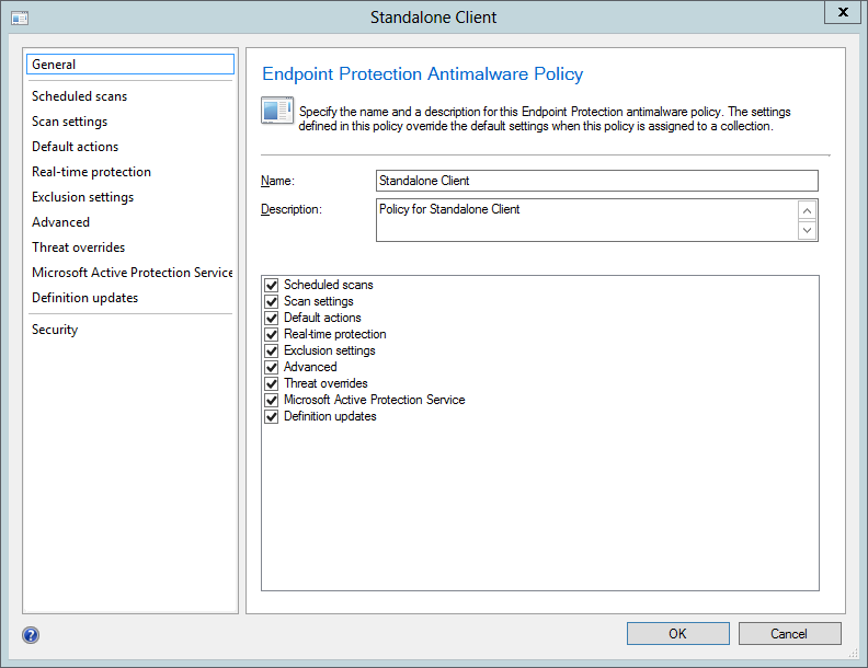 How to install System Center 2012 Endpoint Protection on a