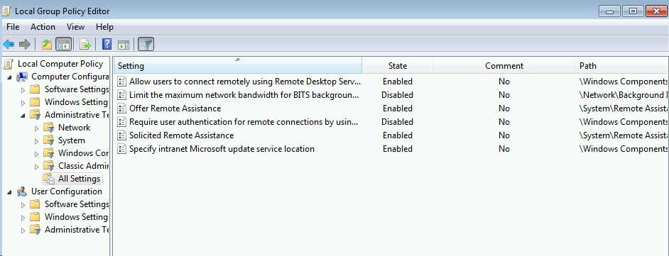 ConfigMgr 2012 local GPO settings – Anything about IT