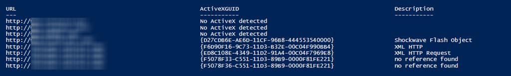 PowerShell Script to Retrieve Internet Explorer Telemetry Data